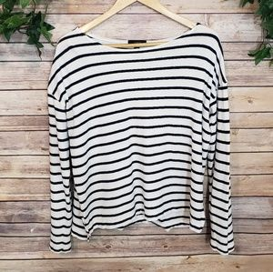 🌿J. Crew Long Sleeve Striped Top Size Small🌿